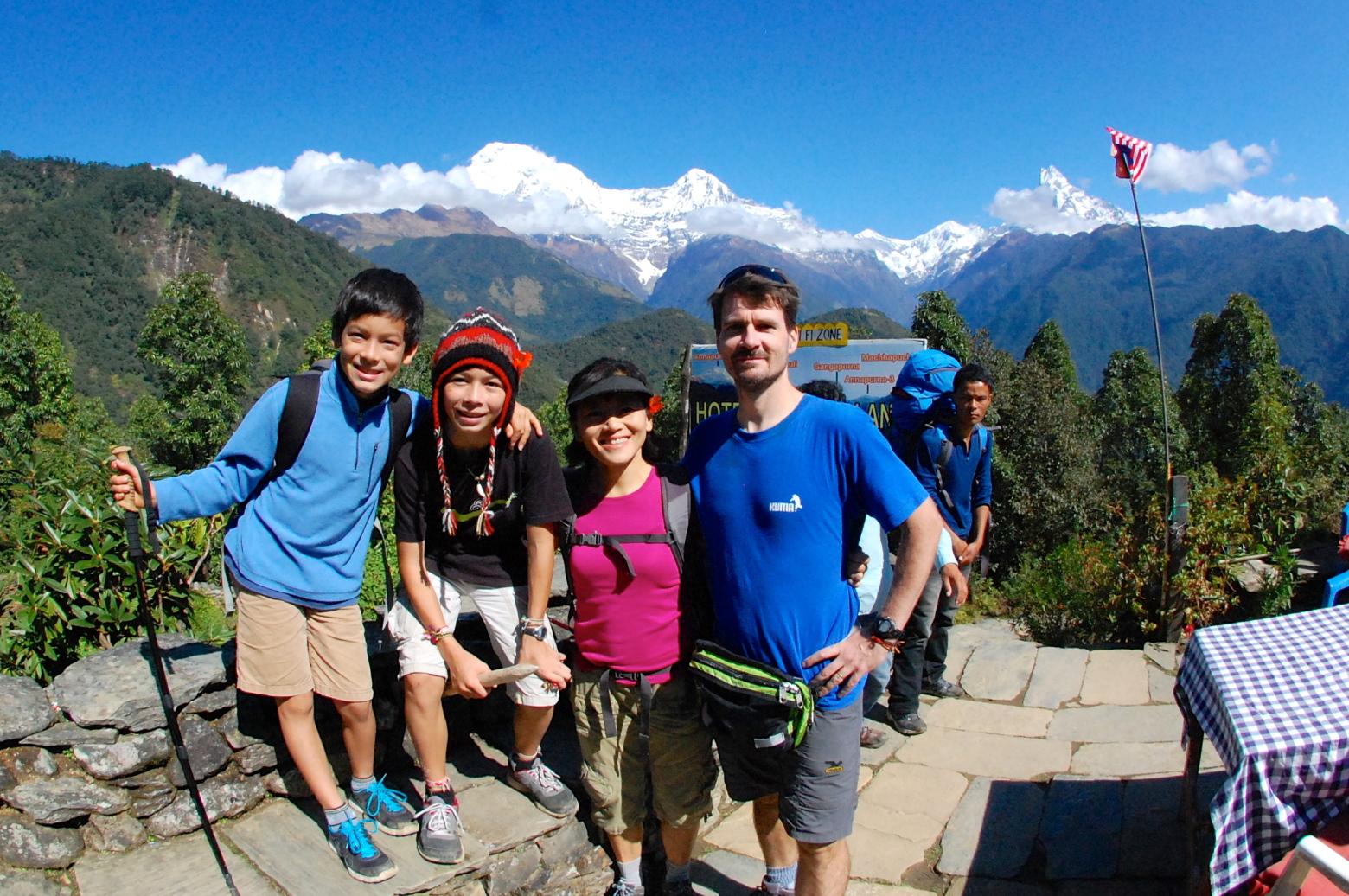 Best Family Treks & tours in Nepal