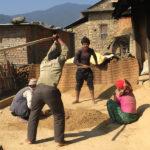 Farmers working at Mulkharka