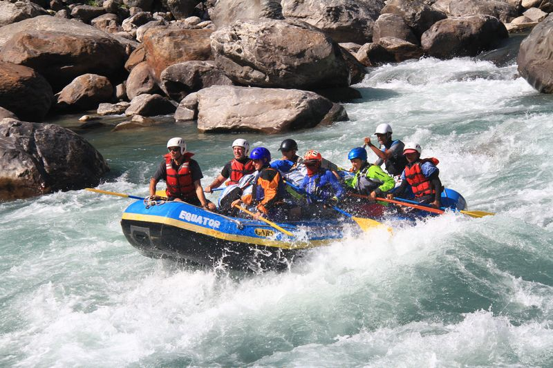 rafting in nepal Rafting in nepal can be a splendid adventure that you would have probably never thought about white water river rafting is very famous and very good sport for river rafting.