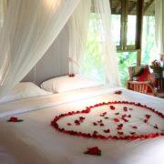 Romantic bedroom in Kathmandu