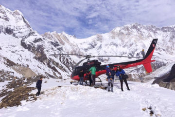 Pokhara to Annapurna Helicopter Tour