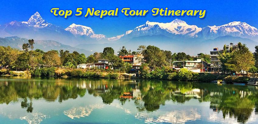 Nepal Tour Itinerary